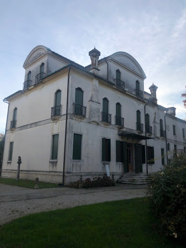 Rear view of the villa