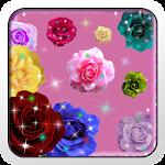 Glitter Roses on Screen App