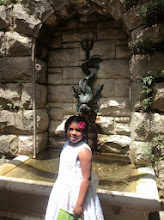 Photo: in front of a fountain