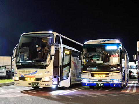 京成バス「K★スターライナー」 大阪・神戸線 H651 草津パーキングエリアにて その1