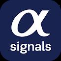 a-Quant trading signals icon