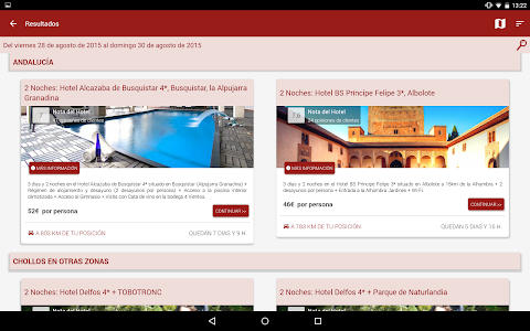 BuscoUnChollo - Viajes Ofertas screenshot 12