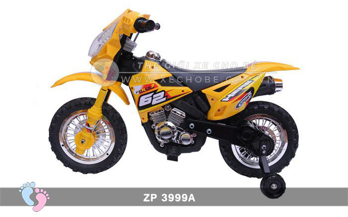 Xe mô tô điện 2 bánh địa hình cho bé ZP3999A 11\