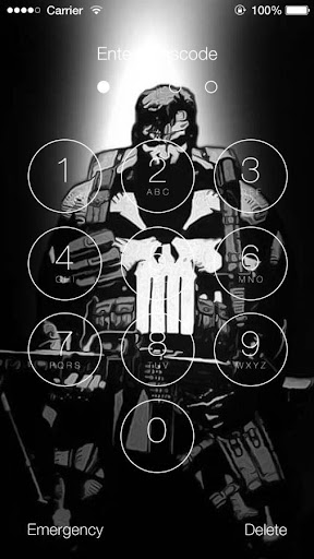 The Punisher Hd Wallpapers Lock Screen Screens7