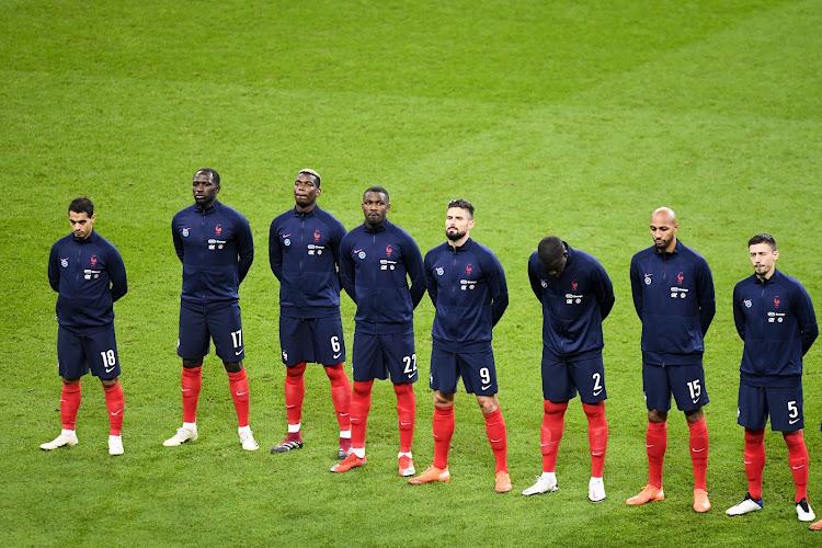 Un joueur de l'équipe de France qui sa sélection après un test positif au coronavirus