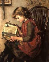"Photo: Charlotte Weeks, ""Bambina che legge"" (1890)"