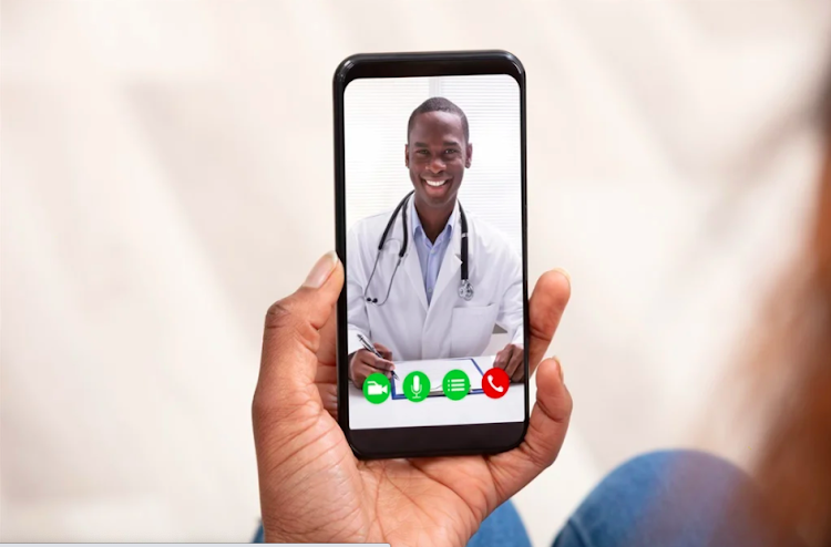 TeleAfya App facilitates connection between a patient and medical care provider who are in close proximity to each other
