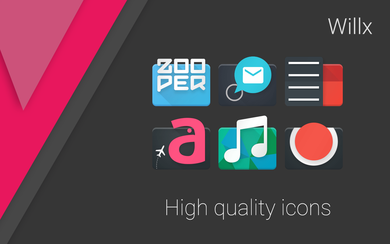 Willx Icon Pack APK Latest Version Download - Free