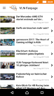 VLN-Fanpage News- screenshot thumbnail