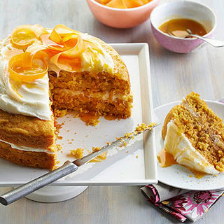Mango-Carrot Cake.