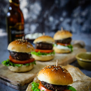 Middle Eastern Spiced Lamb Sliders
