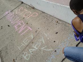 Photo: 3.30.14 Hollaback! Bahama's chalk walk