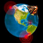 Quake & Volcanoes: 3D Globe of Volcanic Eruptions 1.1.9