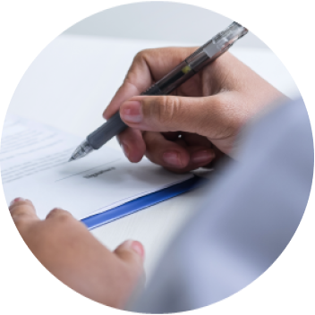 Complete authorization forms