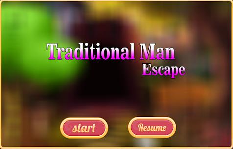 Free New Escape Game 5 Traditional Man Escape 3