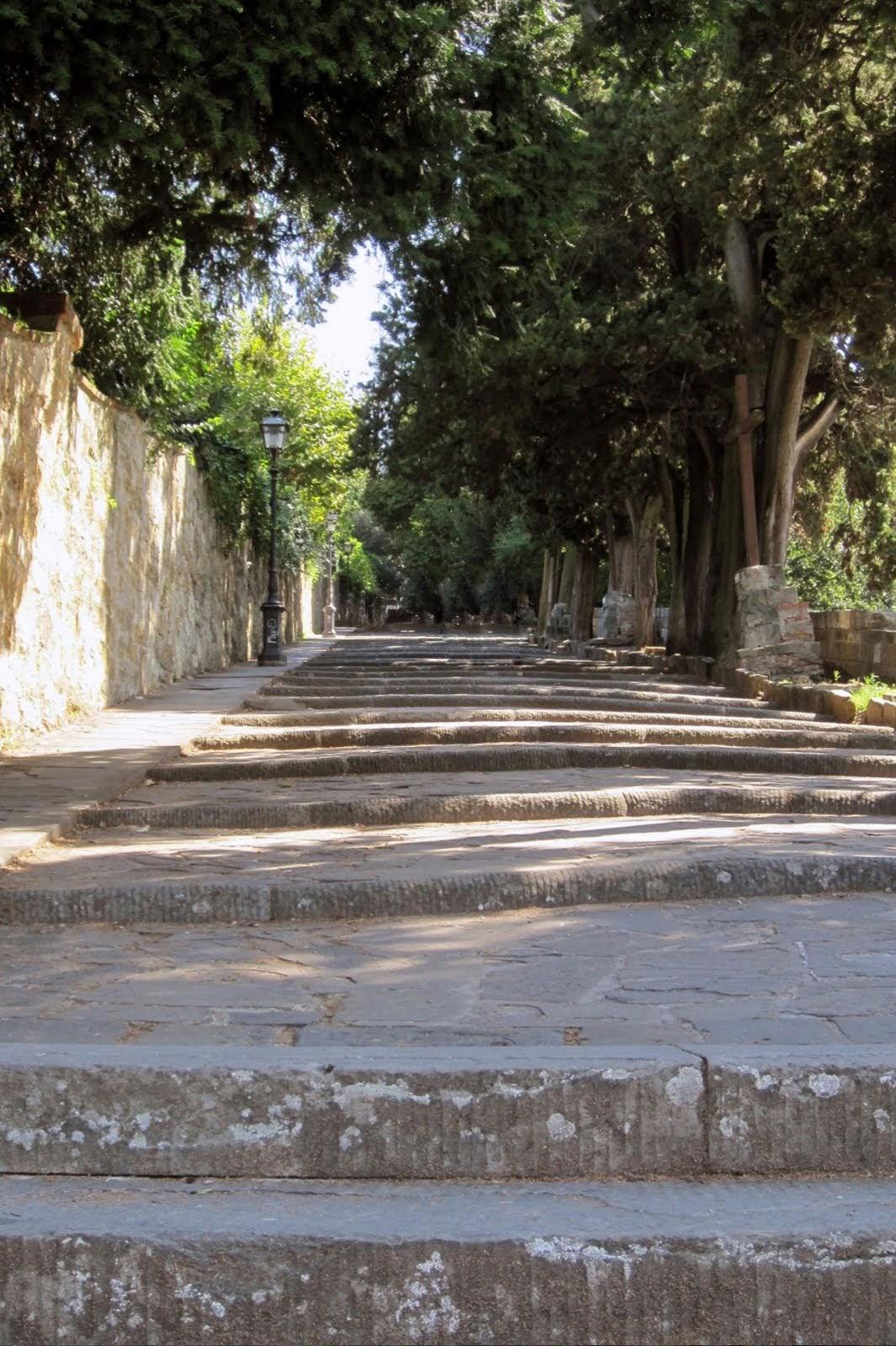 Scalinata del Monte alle Croci (Via San Salvatore al Monte)