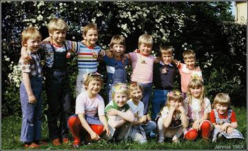Photo: Kinder aus Ludwigslust im Kindergarten 198X