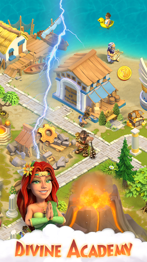 Télécharger Divine Academy: jeu de ferme avec les dieux grecs APK MOD (Astuce) screenshots 5