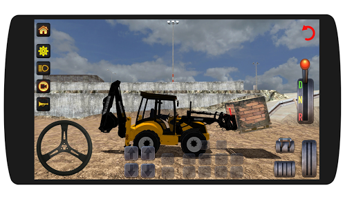 Excavator Loader Realistic Simulation screenshots 2
