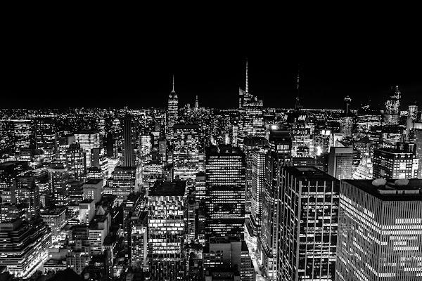 Luci a Manhattan di VIC61