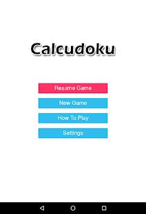 Calcudoku - náhled