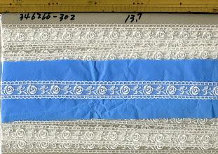 Photo: №826266-30チュールレースオフ:巾22㎜ (346266-30)