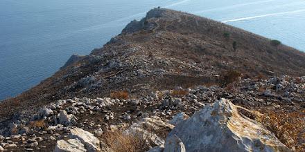 Photo: Campo Vetavole dalla parte alta del crinale di San Costanzo