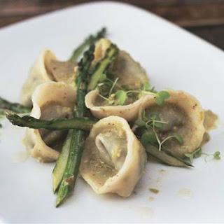 Vegan Pipián Pesto Tortellini
