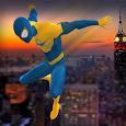 Flying Spider Hero vs Incredible Monster: City Kid