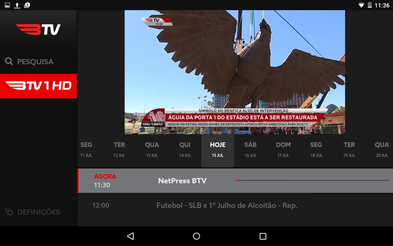 BTV Online- screenshot