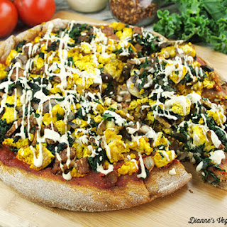 Vegan Breakfast Pizza.