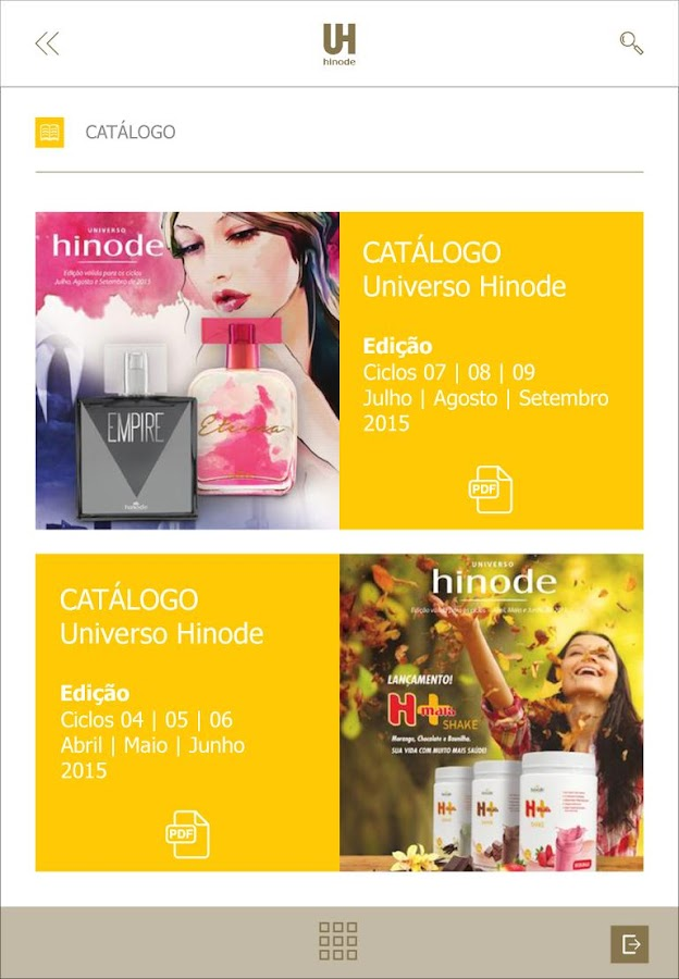 UNIVERSIDADE HINODE- screenshot