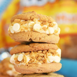 Peanut Butter & Graham Ice Cream Cookiewiches