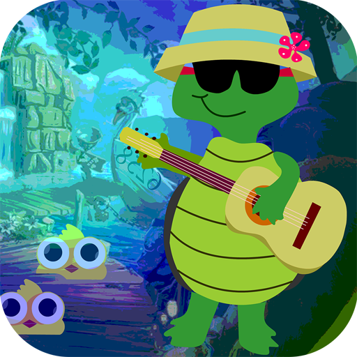 Kavi Escape Game 532 Guitar Playing Tortoise Game