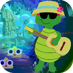 Kavi Escape Game 532 Guitar Playing Tortoise Game Apk Download Free for PC, smart TV