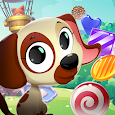 Match 3 Puppy Land - Matching Puzzle Game