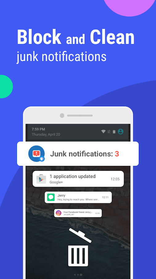 Screenshots of CM Security AppLock AntiVirus for iPhone