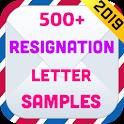 Resignation Letter Samples 2019 icon