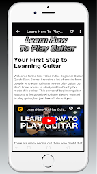 MY GUIDE TO LEARN HOW TO PLAY GUITAR APK screenshot thumbnail 3
