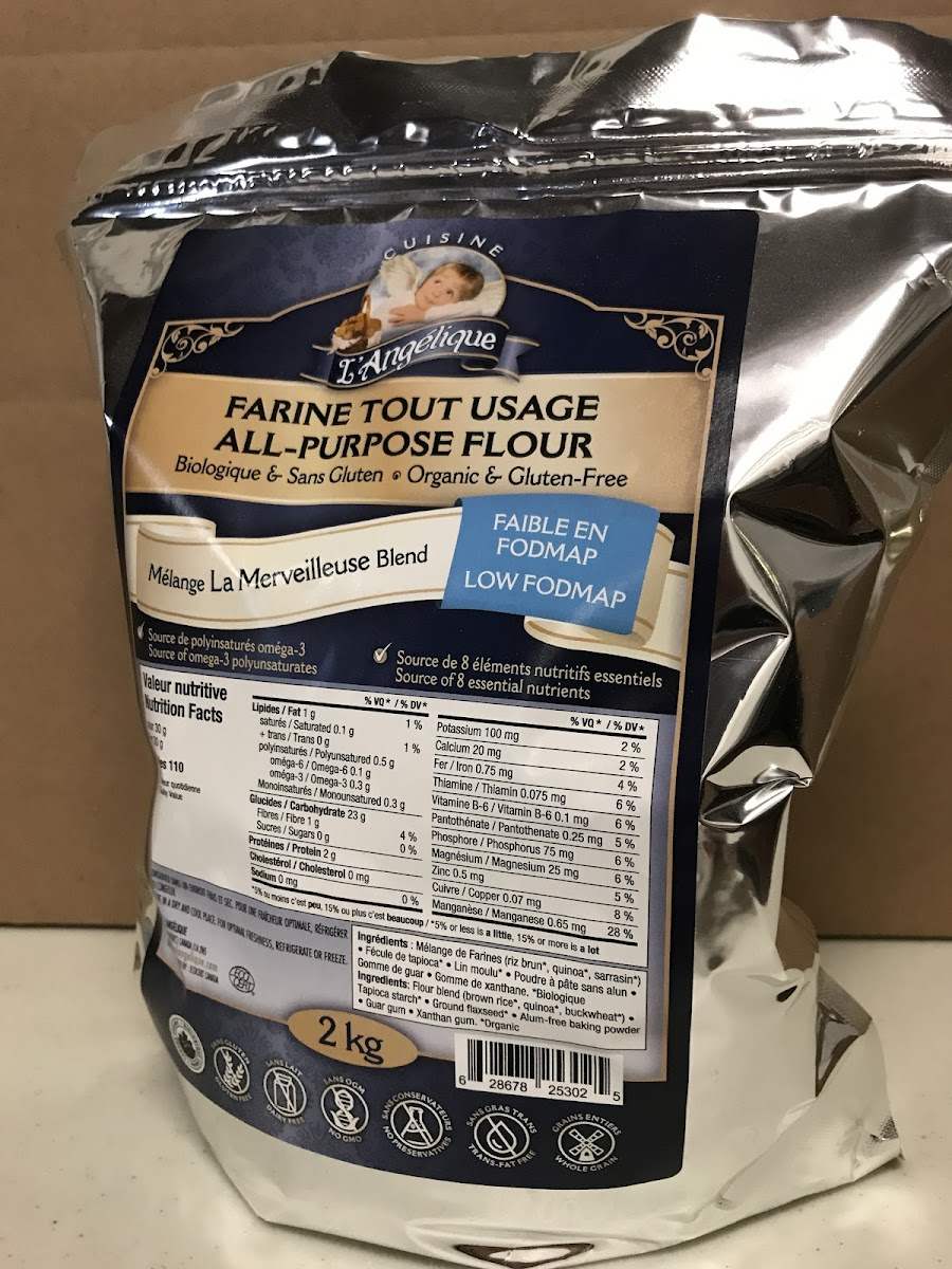 Low Fodmap GF Flour 2kg