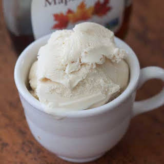 Maple Ice Cream.