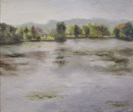 Photo: 8. The Huron Lake on a misty day