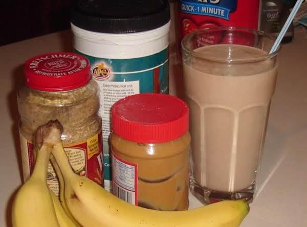 Banana 'anna Chocolate Peanut Butter 'anna Smoothie Recipe