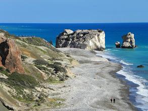 Photo: Petra tou Romiou Aphrodite's birthplace, Cyprus
