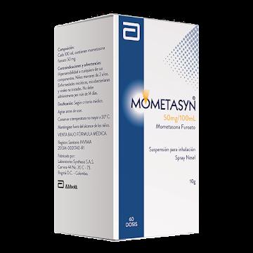 Mometasyn 50mcg Spray   frasco x10g Synthesis Mometasona Furoato