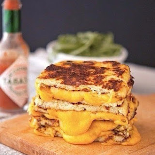 Sandwiches Cauliflower With Cheese