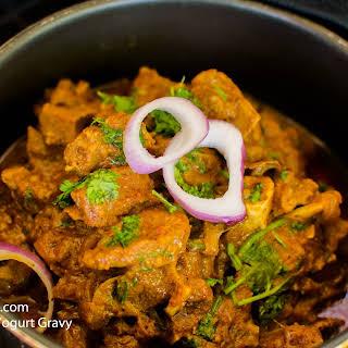 Goat Curry in Yogurt Gravy.