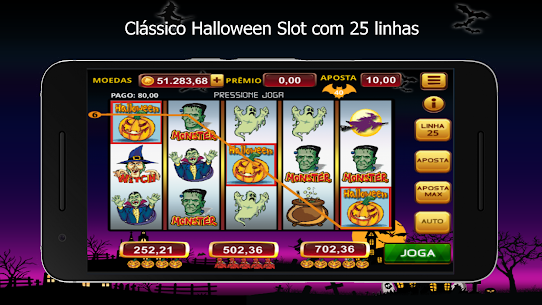 Halloween Slots 1.08 Apk Mod (Unlocked) 1