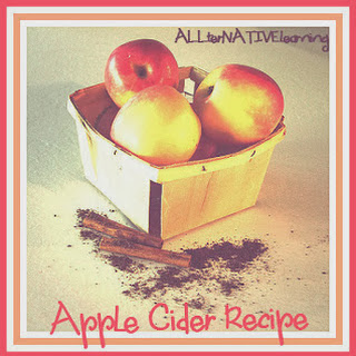 Making Apple Cider with Kids