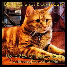 Photo: Did anyone say Black Friday? Up to 75% off Udemy Deals #intercer #cat #cats #pet #pets #animal #education #udemy #school #college #student #beautiful #pretty #sweet #learn #teach #teach2013 #team #petsofinstagram #book #affiliate #deal #blackfriday #cybermonday #black #orange - via Instagram, http://instagram.com/p/hP-M2CJfr8/